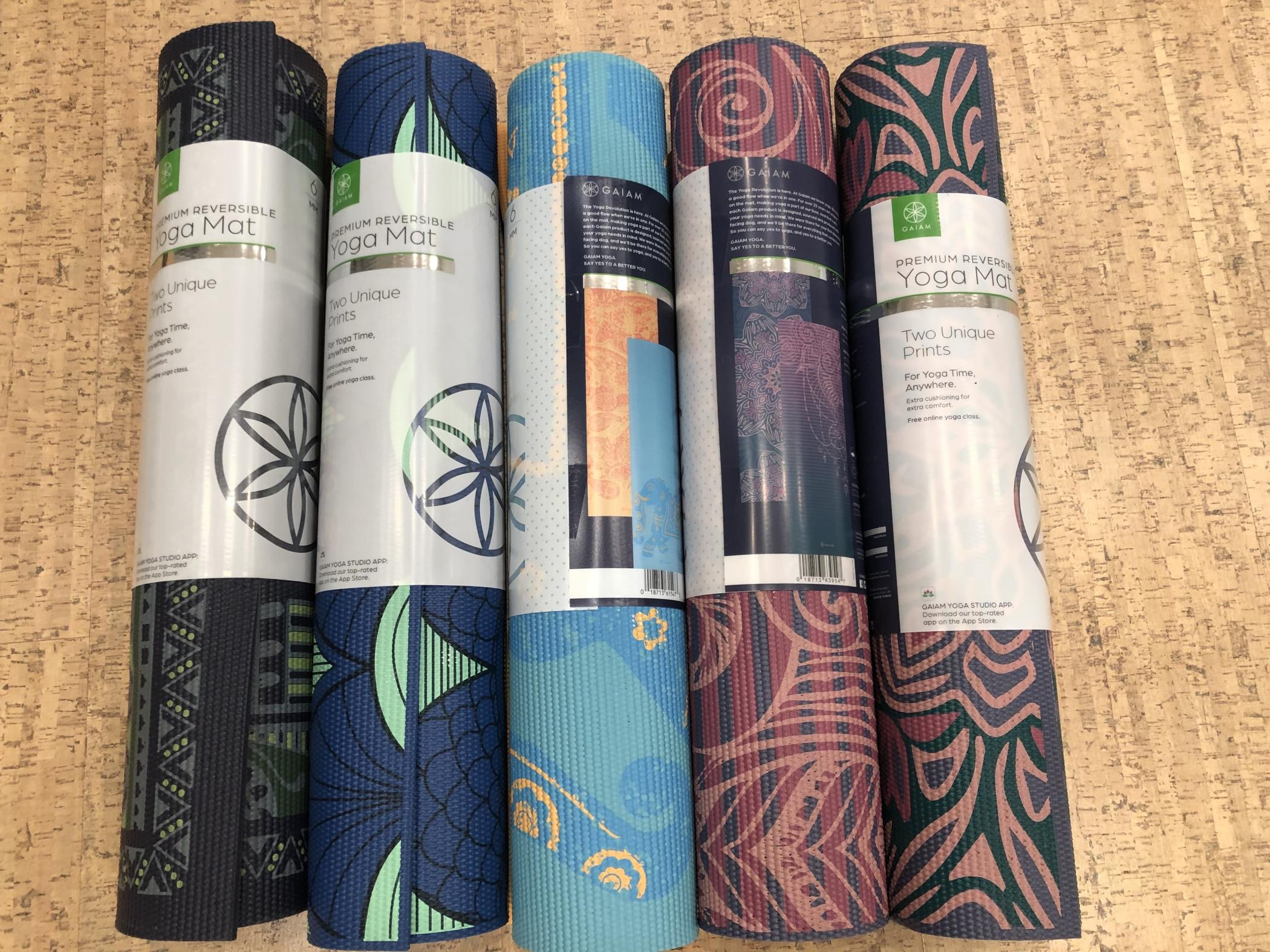 Yoga Mat - Extra Thick, Reversible